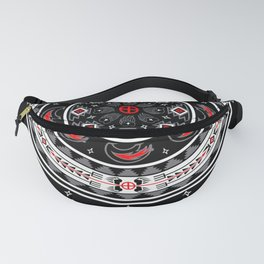 Bear Spirit (Black) Fanny Pack