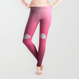 Mei the Strawberry Rabbit Leggings
