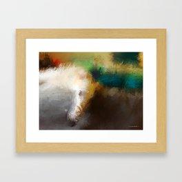 Sasa and Tatyana Framed Art Print