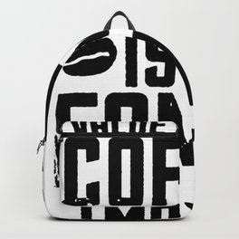 COFFEE VALUE T-SHIRT Backpack