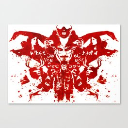 Hannibal (Blood Red Varient) Canvas Print
