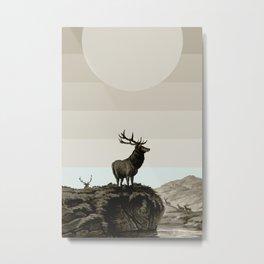 Dusk Metal Print