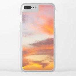 Texas Sunrise Clear iPhone Case