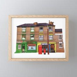 HAPPY FASHION Framed Mini Art Print