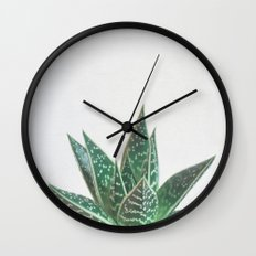 Aloe Tiki Wall Clock