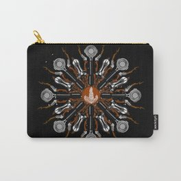 Barista Flower Carry-All Pouch