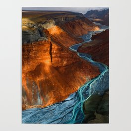 DUSHANZI Grand Canyon Poster