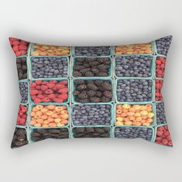 berries pattern Rectangular Pillow