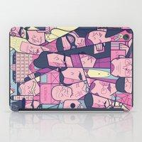 budapest hotel iPad Cases featuring Grand Hotel by Ale Giorgini