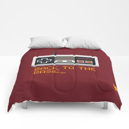 back to the basic_  Comforters