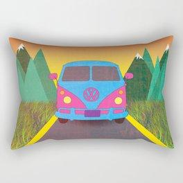 Das Auto Rectangular Pillow