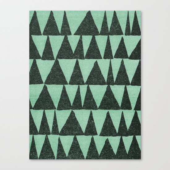 Analogous Shapes. Canvas Print