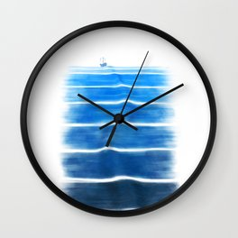 sea trip Wall Clock