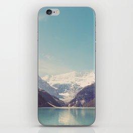 Lake Louise - Mountain Landscape, Nature Photography iPhone Skin
