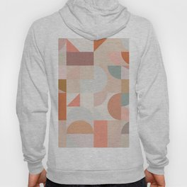 Mid Century Shapes N.03 / Nomade Abstraction Hoody