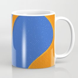Orange Pop | Happy modern Art Coffee Mug