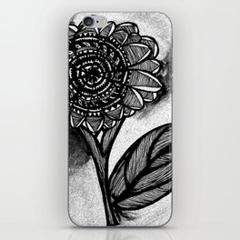 Flower Doodle iPhone Skin