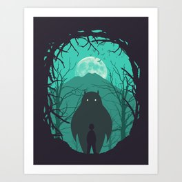 Scary Monsters and Nice Sprites Art Print