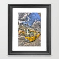Berlin Tram Framed Art Print