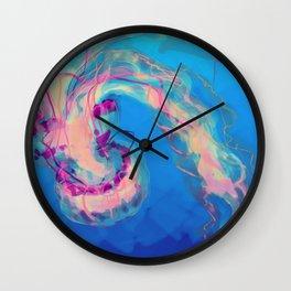 Jellies Redux Wall Clock