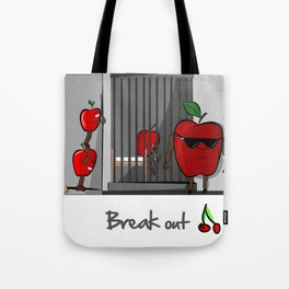 Break Out Tote Bag