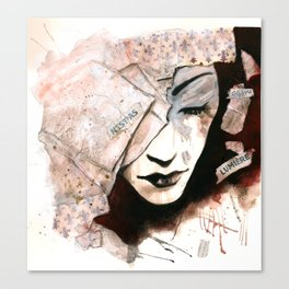 A New Form of Silence Canvas Print