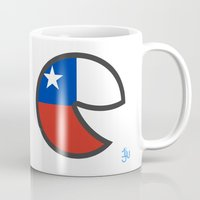 chile Mugs featuring Chile Smile by onejyoo