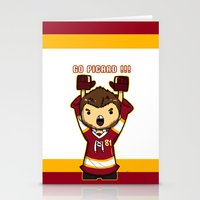 picard Stationery Cards featuring Mini Picard by Kana Aiysoublood