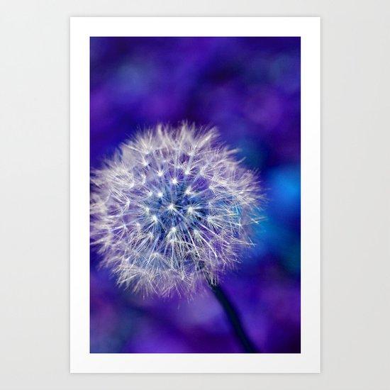 dandelion edit Art Print