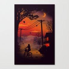 Ride Home Canvas Print