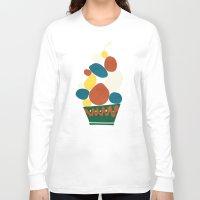 dessert Long Sleeve T-shirts featuring Dessert by Picomodi