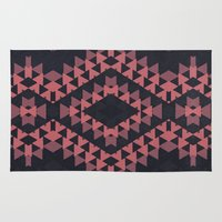 navajo Area & Throw Rugs featuring navajo n3 by spinL
