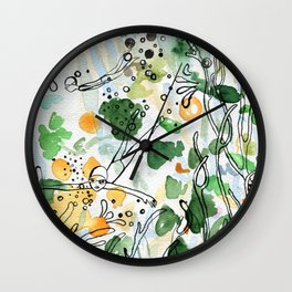 Coral reefs Wall Clock