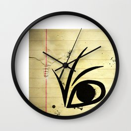 A SERIES OF UNFORTUNATE EVENTS EYE Wall Clock