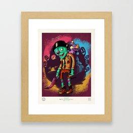John el Esquizofrénico Framed Art Print