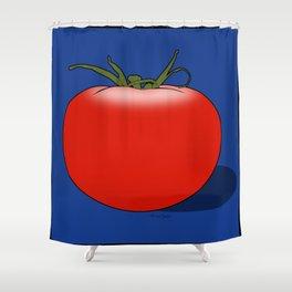 The Big Tomato Shower Curtain