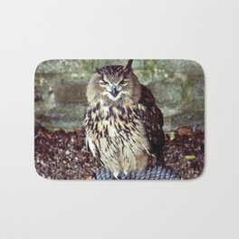 Happy Owl. Bath Mat