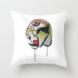 Empty Mask - Rebel Pilot Throw Pillow