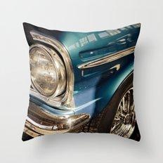 Chevy Nova SS - Part of the Vintage Car Series Throw Pillow