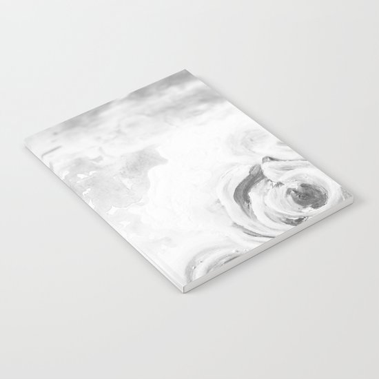 Fading Roses Silver Lining Notebook
