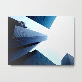 City from below Metal Print