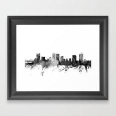 Fort Worth Texas Skyline Framed Art Print