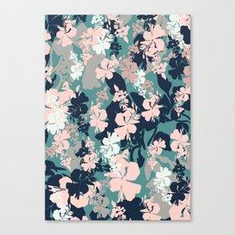 Pastel Floral Canvas Print
