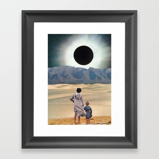 DISTANCE Framed Art Print