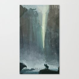 Hey Ram can you kill those undead?  Canvas Print
