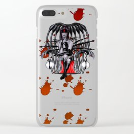 Bondage Vamp Clear iPhone Case