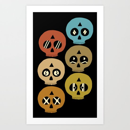 I See Dead People Art Print