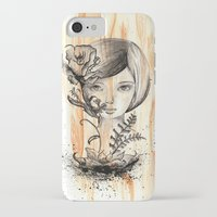 doll iPhone & iPod Cases featuring doll by cryselypunto