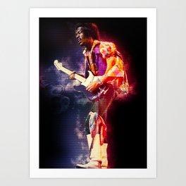 The jimi Hendrix experience Art Print
