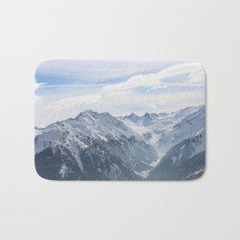 Wunderfull Snow Mountain(s) 2 Bath Mat